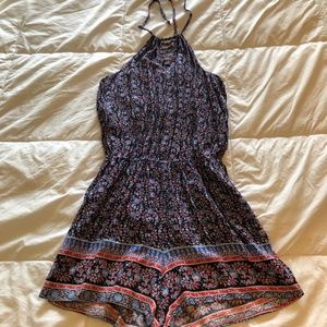 Other - Red & Blue Romper